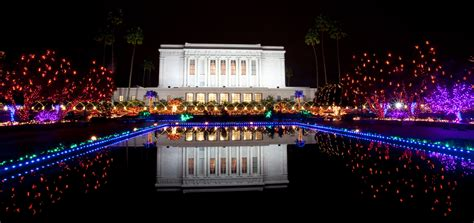 mesa mormon temple christmas lights and concerts 2016