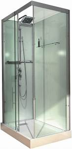 Cabine De Douche Rectangulaire : cabine de douche domino compl te rectangulaire 110 x 80 ~ Melissatoandfro.com Idées de Décoration