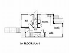 Simple House Floor Plans  Teeny Tiny Home  Pinterest  Simple House Plans
