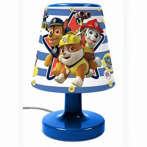 Paw Patrol Lampe : paw patrol bedside lamp light kids bedroom lighting ~ Whattoseeinmadrid.com Haus und Dekorationen
