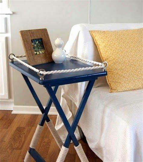 small nautical table ls cute little side table makeover with paint and http