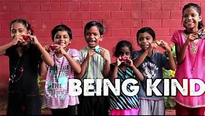 BEING KIND: The Music Video that Circle the World | Empty ...  Being