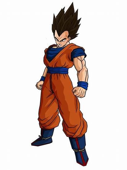 Vegeta Goku Deviantart Gokugarlic Hairstyle Dragon Ball