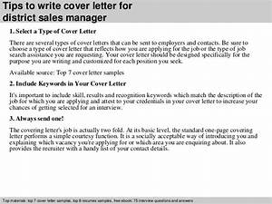 district sales manager cover letter With cover letter for district manager position
