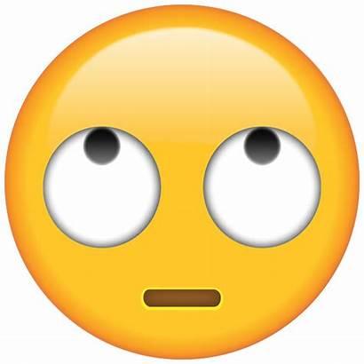 Emoji Eyes Rolling Face