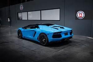Breathtaking Blu Cepheus Lamborghini Aventador on HRE ...