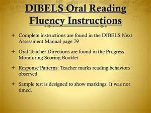 Dibels Scoring Chart Ppt Dibels Progress Monitoring Instructions And Video