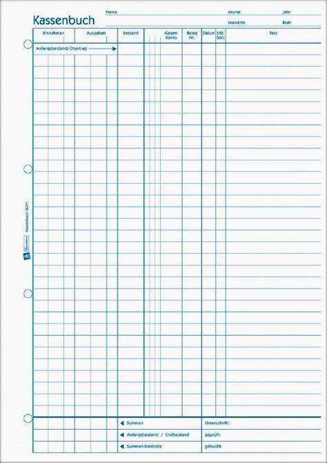 kassenbuch vorlagen zum ausdrucken nycfbllccom