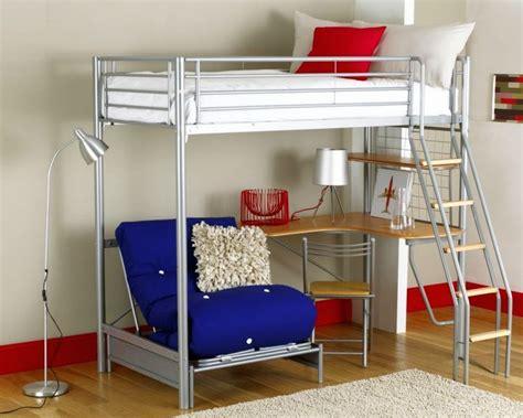 edgy adult loft beds  desk design ideas