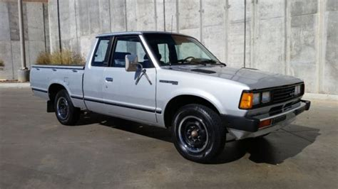 1982 Datsun King Cab by Datsun 720 Standard Cab 1982 Silver For Sale