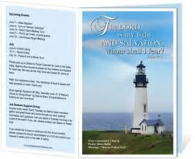 Free Church Bulletin Covers Template