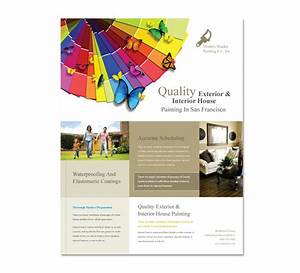 house painting contractor flyer template With painting flyers templates free