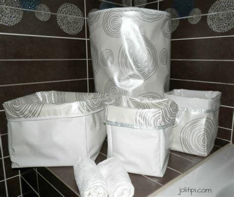 diy les paniers de rangement en tissu joli tipi