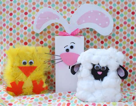 Spring Chick, Lamb & Bunny 2x4's