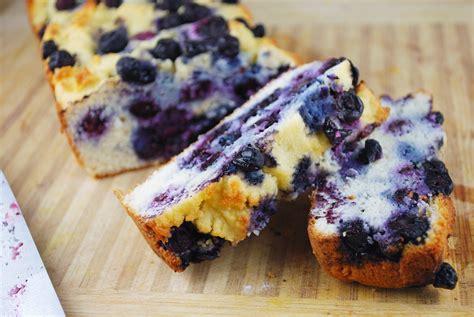 heavenly blueberry lemon pound cake grain  gluten