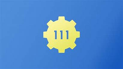 Fallout Vault 111 Boy Wallpapers Minimal Background