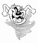 Coloring Devil Tasmanian Demon Cartoon Taz Colouring Hurricane Tazmanian Cliparts Tunes Looney Drawing Tazmania Getcolorings Hurricanes Printable Getdrawings Drawings Popular sketch template