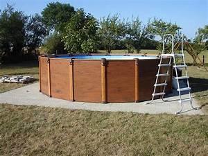 Préparation de sol pour piscine hors sol Forum Jardin Assainissement VRD Système D