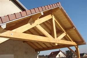 Comment Fabriquer Une Table De Ferme En Bois : construire une ferme en bois section charpente traditionnelle guehenno online ~ Louise-bijoux.com Idées de Décoration