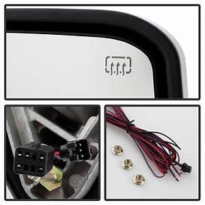 99-02 Chevy Silverado    Gmc Sierra G2  Power    Heated    Led Signal  Towing Side Mirrors