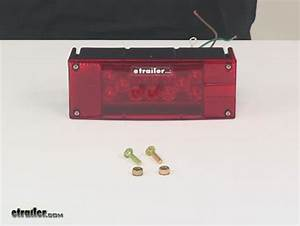 Led Combination Tail Light For Trailers Over 80 U0026quot  Wide