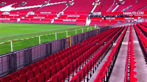 view  man united managers seat   trafford youtube