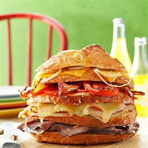 Big Sandwich Recipe Taste of Home