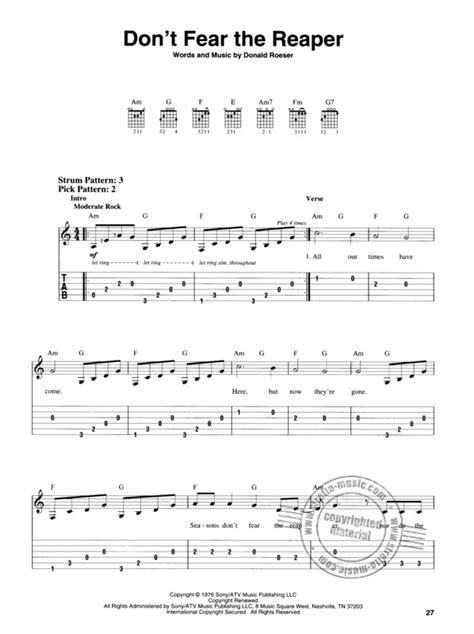 Discover our models of staves, tablatures, diagrams and blank chord charts for guitar and piano! Rock Band - Easy Guitar with Notes and TAB   buy now in Stretta sheet music shop.
