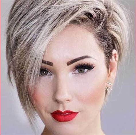 short hairstyles    face