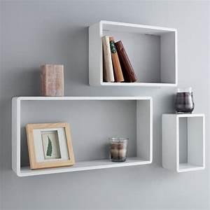 Rook, Rectangle, Wall, Shelf, Trio, Set