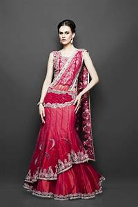 Indian wedding dresses zarilane for Red indian wedding dress