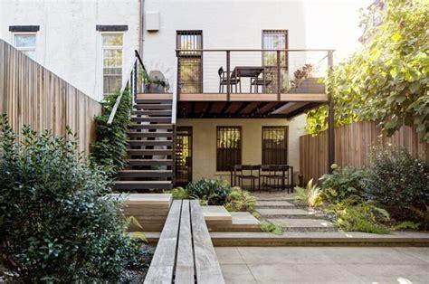 townhouse backyard garden designer visit brook klausing elevates a brooklyn backyard gardenista