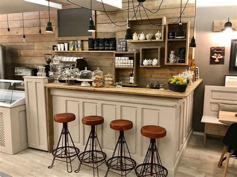 Cafe Einrichtung Planen. Die Bar Das Herz Einer