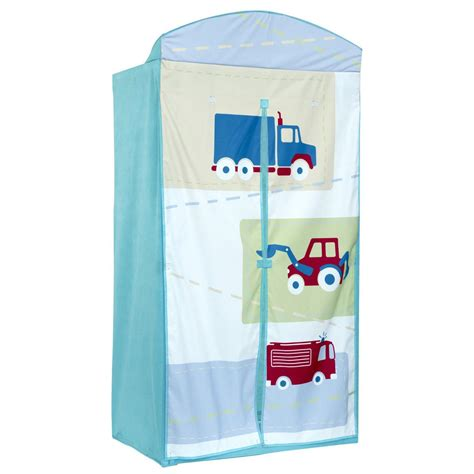 Boys Vehicle Fabric Wardrobe Kids New (free P+p) Ebay