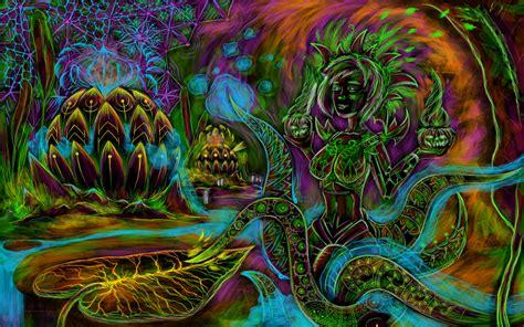 Free Psychedelic Art Wallpaper