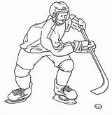 Coloring Pages Printable Winter Hockey Sports Sport Colouring Snowmobile Doo Ski Print Boys Library Clipart Sheets Popular Exercise Visit Seasonal sketch template
