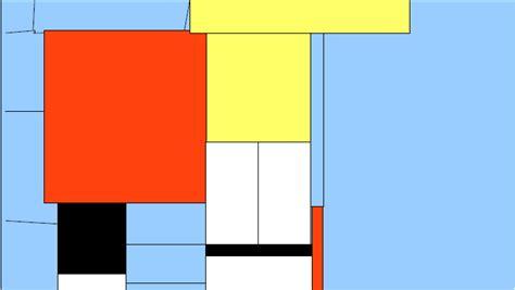 Piet Mondrian Berlin by Computer Ag Giesensdorfer Schule Mondrian Mit Einem