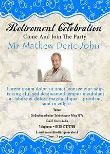 retirement flyer sample madratco retirement announcement With retirement announcement flyer template
