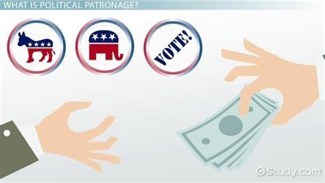 political patronage definition motives  video