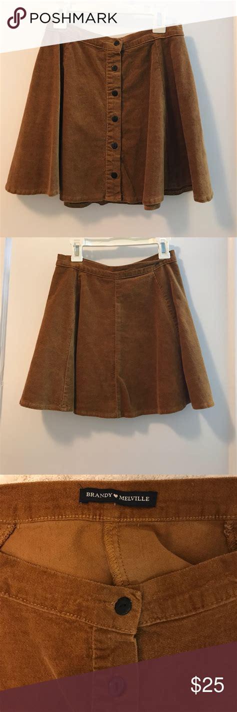 Brandy Melville Brya Corduroy Skirt fits xs-s Never worn ...