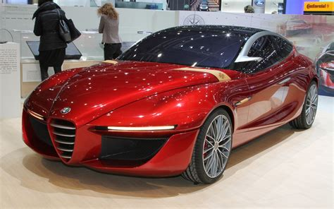 Alfa Romeo Car : Alfa Romeo Gloria Concept Is Sleek Four-door Forbidden