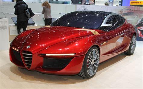 Alfa Romeo Gloria Concept Is Sleek Fourdoor Forbidden