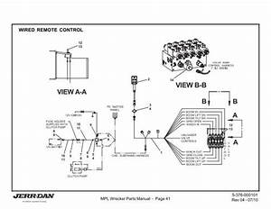 Jerr Dan Rollback Parts Diagram