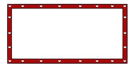 onlinelabels clip art border hearts