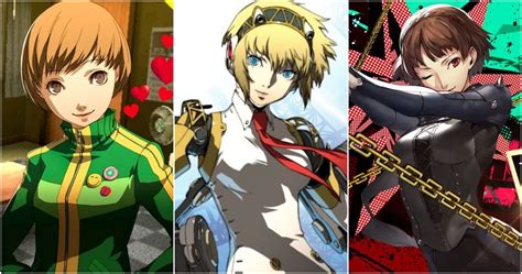 Persona Top 10 Waifus In The Series Ranked Thegamer