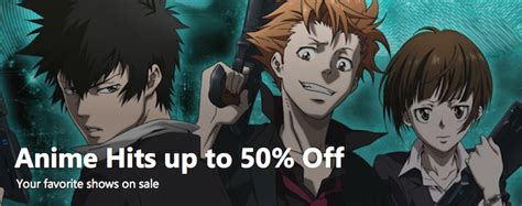 Xbox Animehits Up To 50 Off Your Favorite Shows