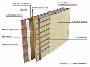 ossature bois recherche google abri jardin pinterest With maison sans mur porteur 9 maison en bois structure poteau poutre