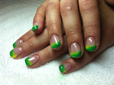 gel fingernã gel design green 39 s nails