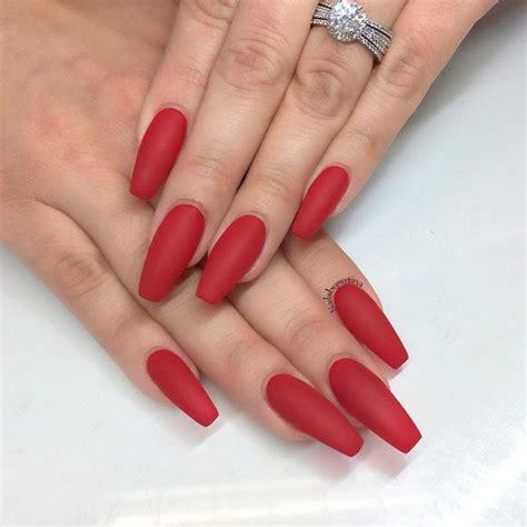 rote nägel design 20 vibrant acrylic nail designs haare make up n 228 gel nageldesign und fingern 228 gel