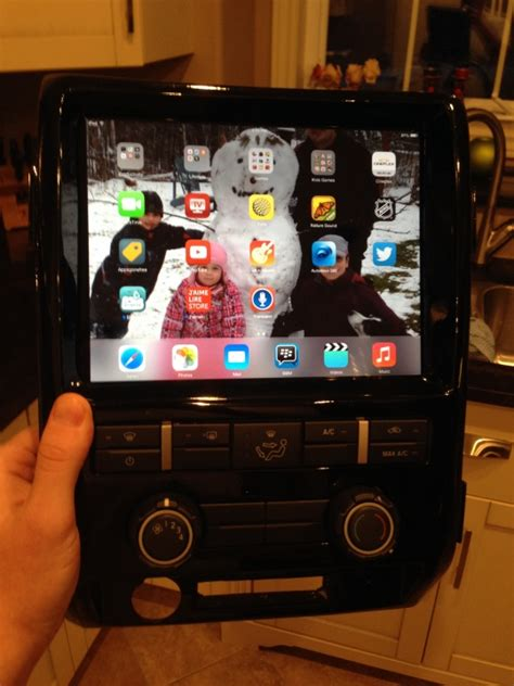 canada ipad dash kit   ford  forum